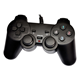 Gamepad USB Gigatech GP-400 analogni sa vibracijom za PC/PS3/XBox 360 crni
