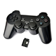 Gamepad Wireless Gigatech GP-600 podržava PC/PS3/XBox 360 sa vibracijom crni analogna palica